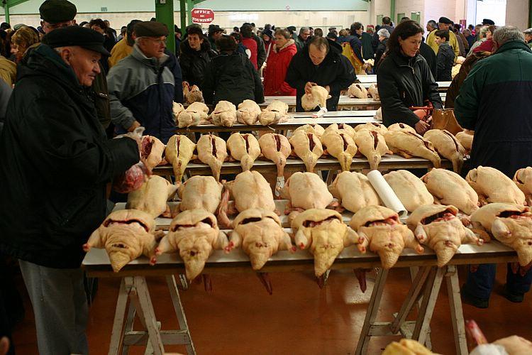 marche canards foie gras