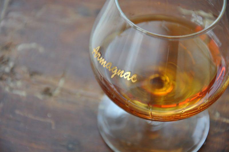 verre d'armagnac