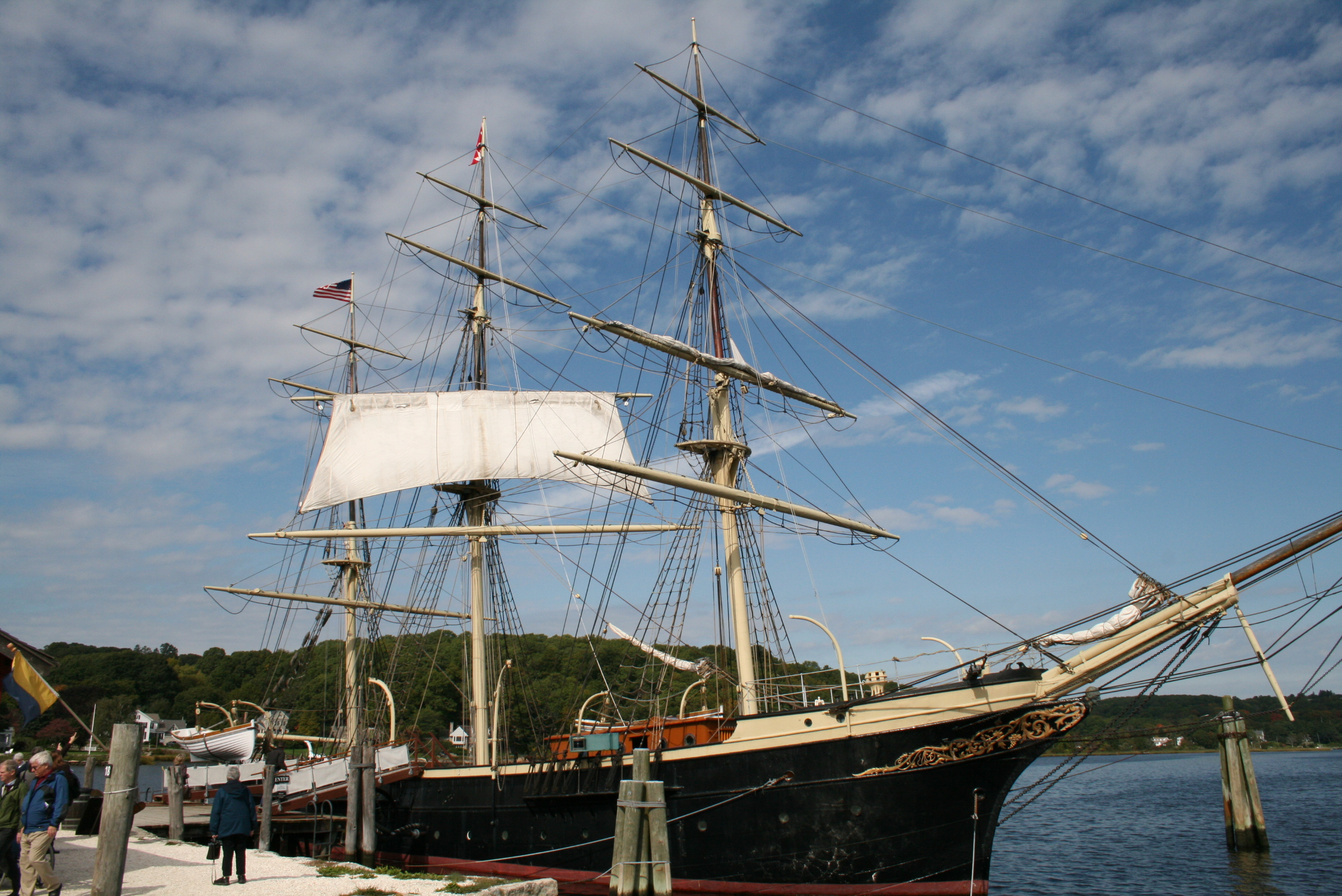 Mystic Seaport Ship
