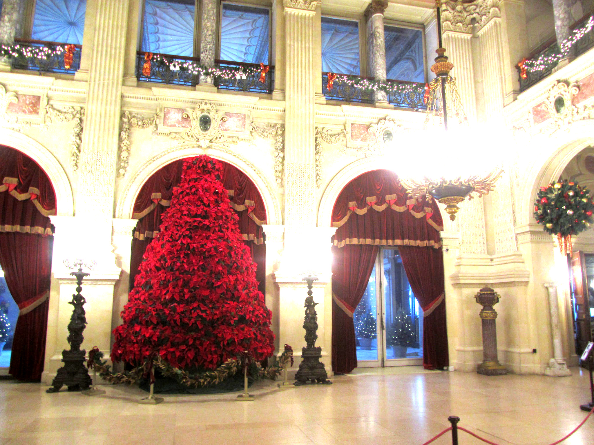 Newport Mansion Christmas decorations