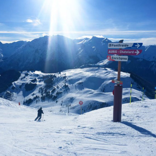 Why Ski in the French Alps