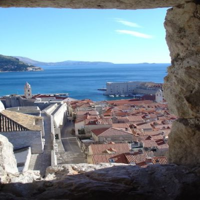 dubrovnik through the ramparts