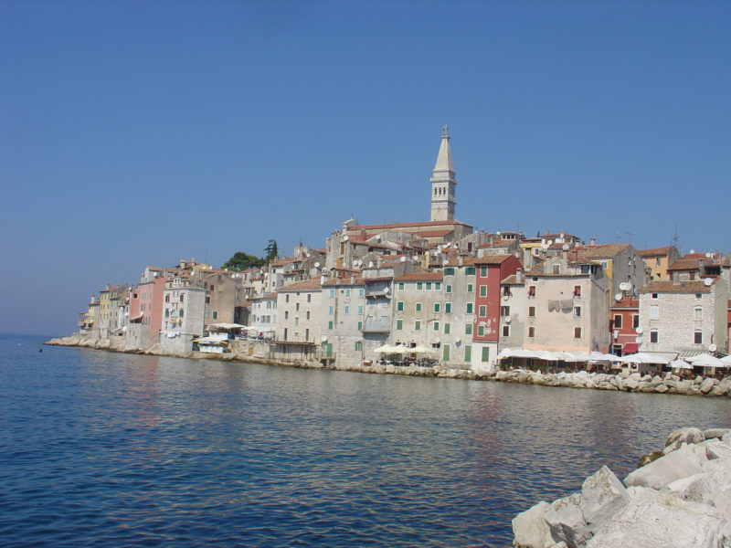Rovinj fishing village