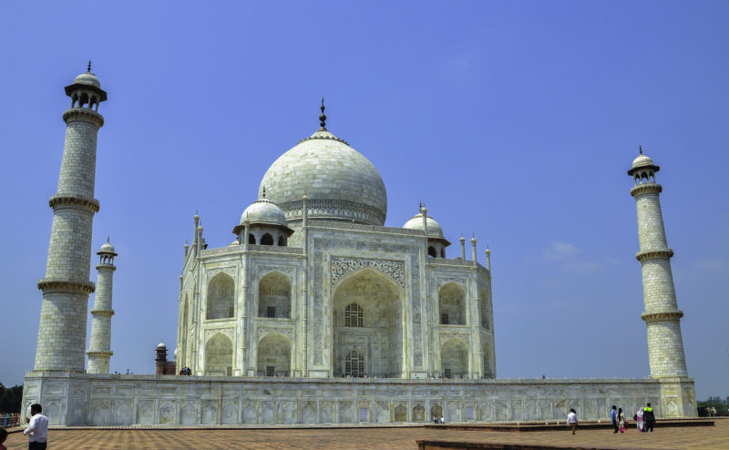 Visit the tajmahal