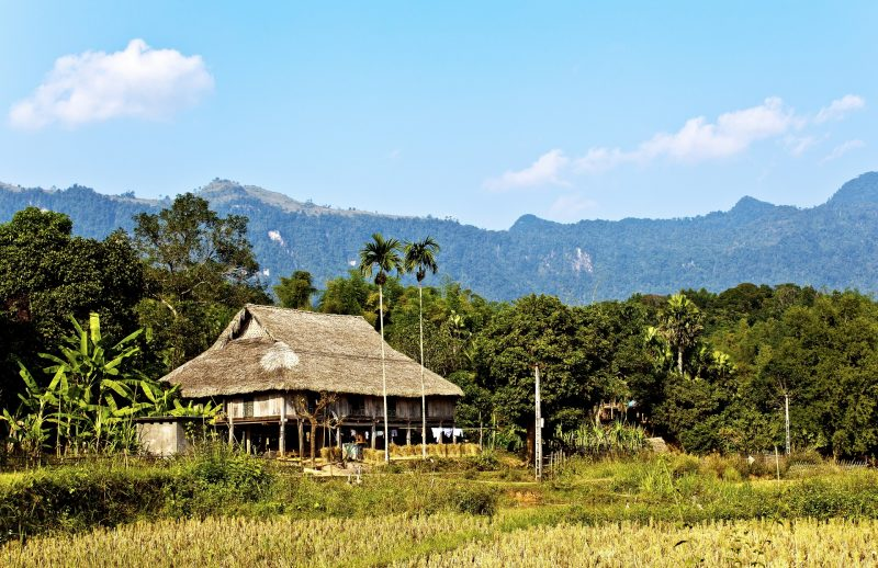 Stay with locals in Mai Chau Valley Vietnam