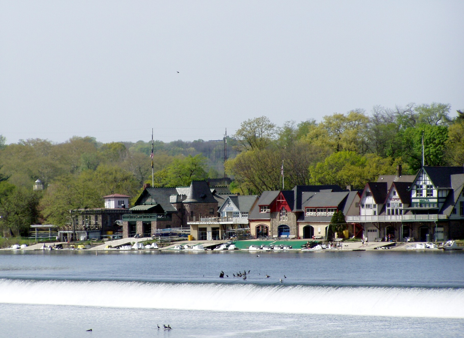 Philadelphia Boathouse Schuylkill River