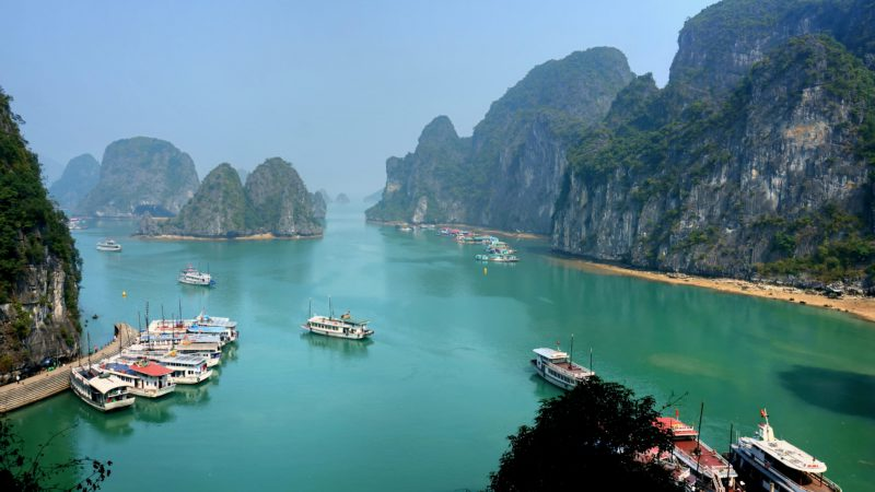 Vietnam Ha Long Bay On A Sunny Day VT