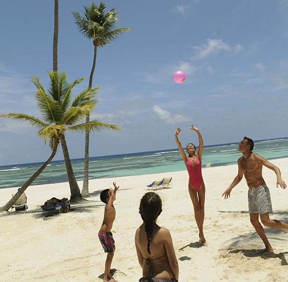 Club Med Punta Cana beach volleyball