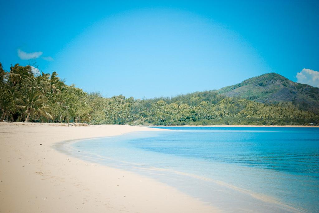 Beach paradise Fiji