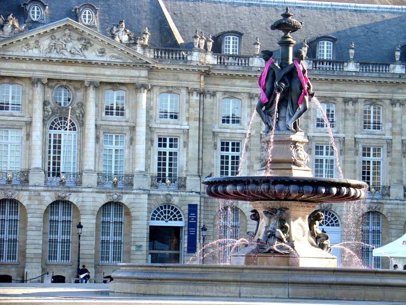 Bordeaux Statue Fountain