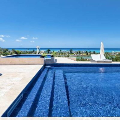 Luxury Village Saint Martin pool view