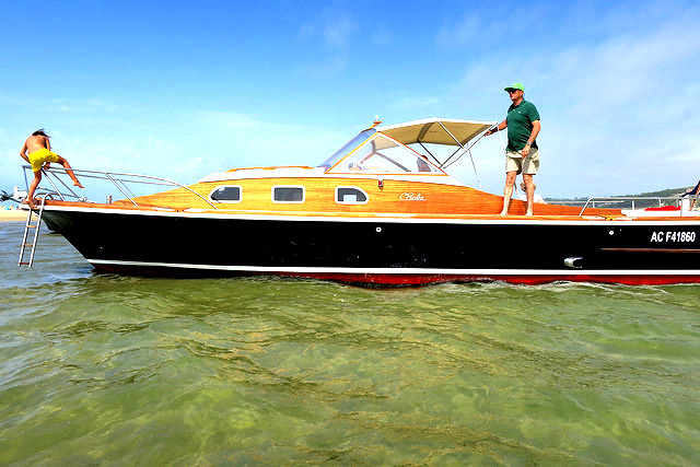 Arcachon motor boat ride