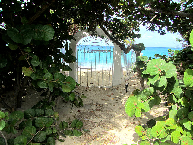 Saint Martin Beach Door VT