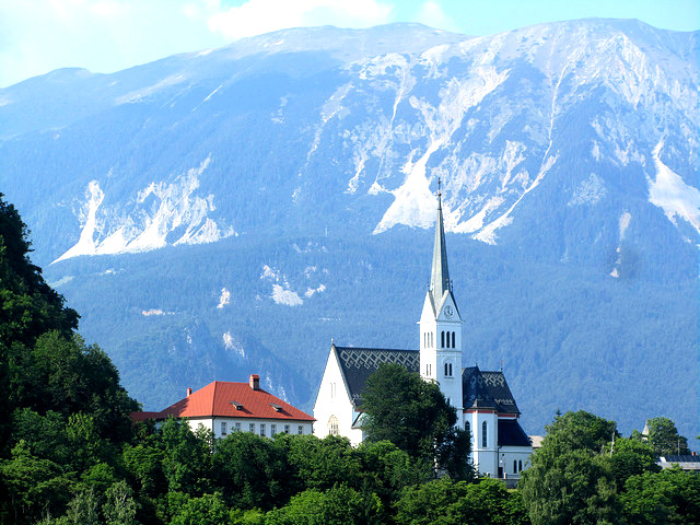 Slovenia Church VT