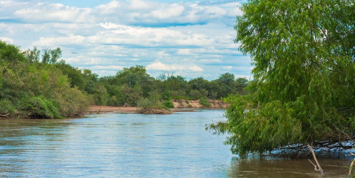 fishing in Argentina river