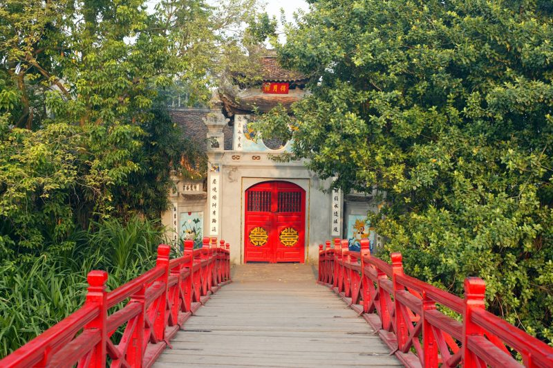 HaNoi Red Bridge