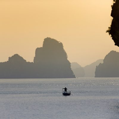 Halong Bay and sunrise