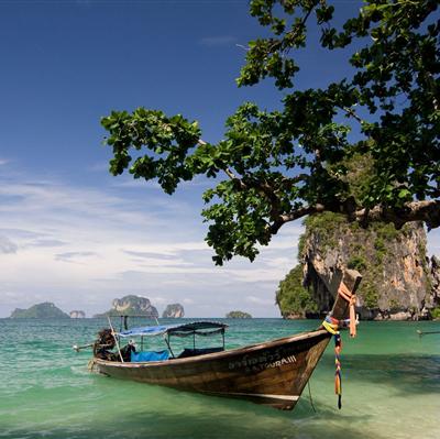 long boat krabi thailand