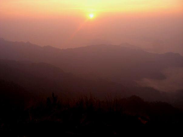 Pu Chi Fah sunrise