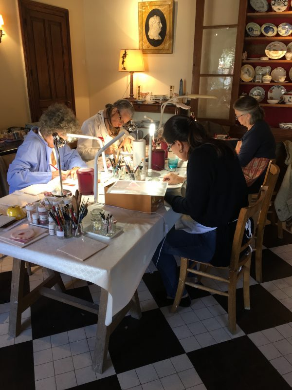 porcelain workshop