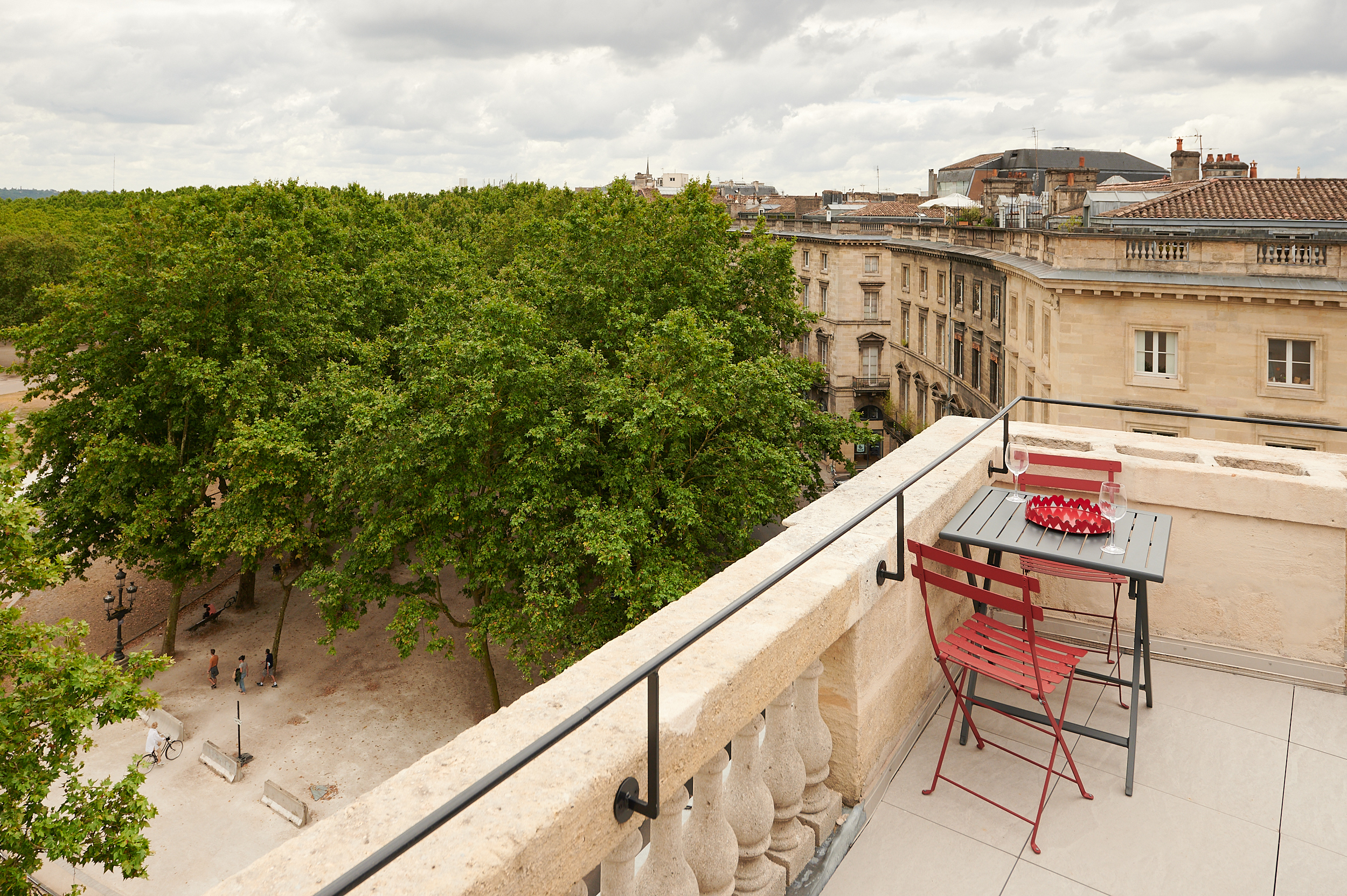 Terrasse Appartement Bordeaux