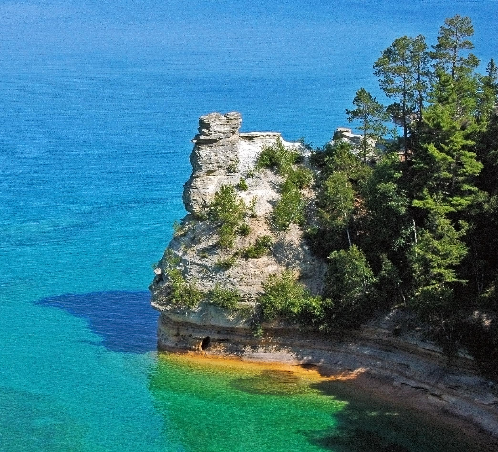 Pictured Rocks Michgan National Lakeshore